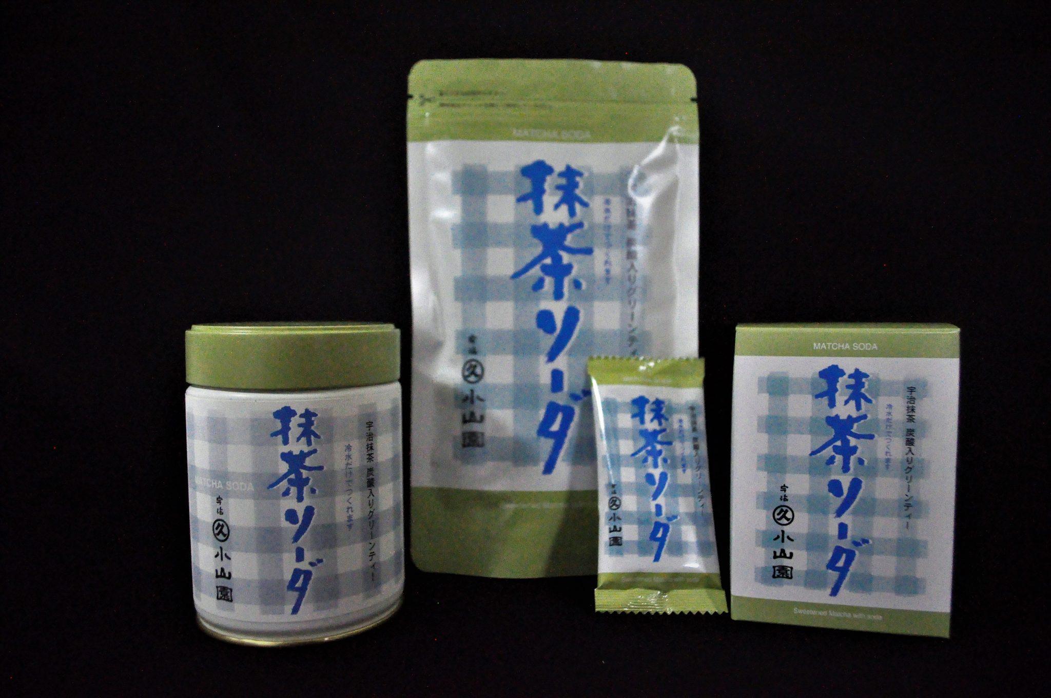 Authentic Matcha Green Tea Soda