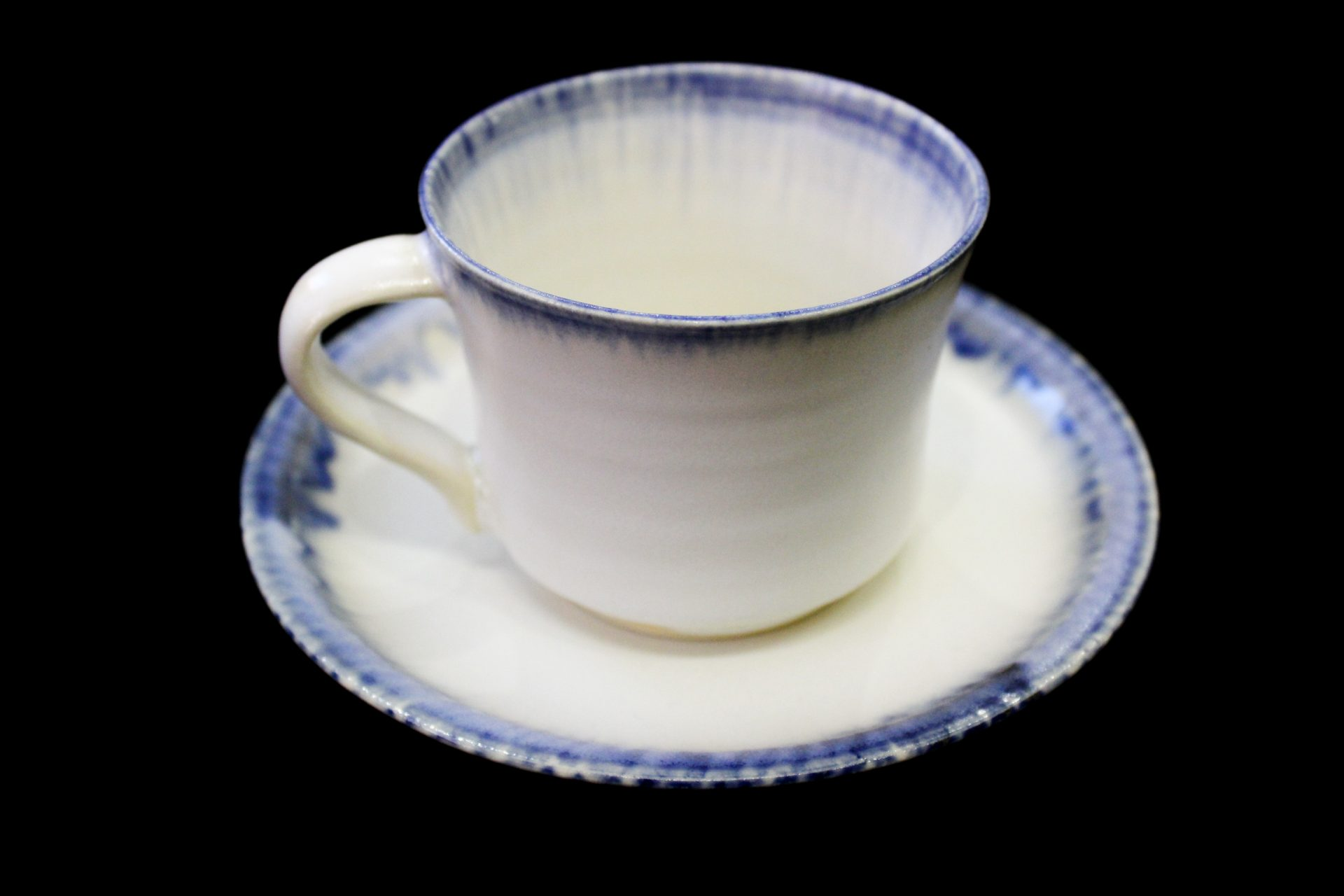 Cup and Saucer Set | Blue