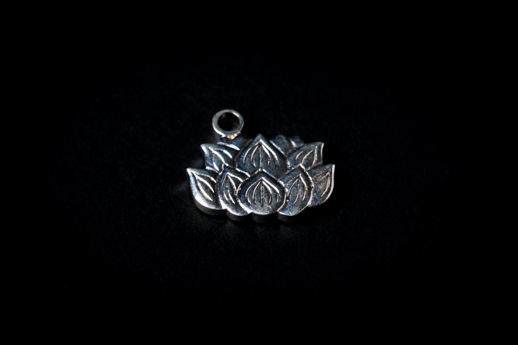 Sterling Silver Forge Incense Stand | Lotus